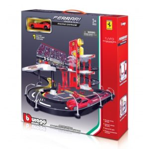 Midex Burago Ferrari Race & Play Racing Garage