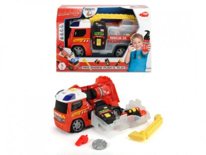 Dickie Toys Fire Engine Push&Play