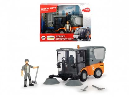 Dickie Toys Playlife Street Sweeper Set