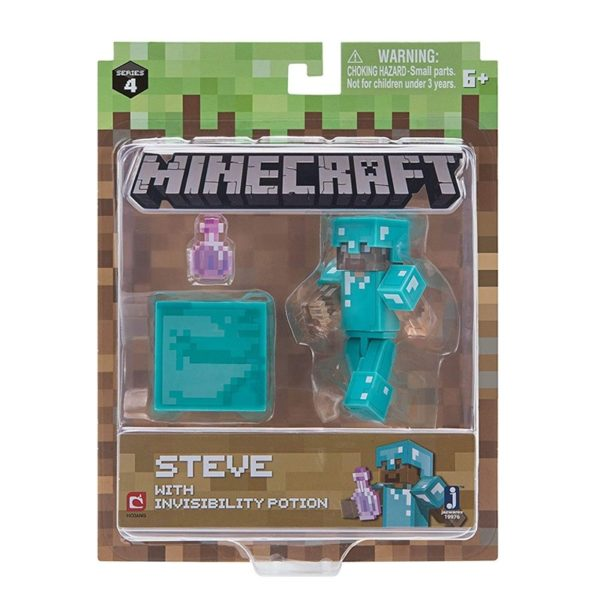 Minecraft Steve With Invisibility Potion