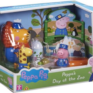 Peppas Day At The Zoo